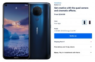 Coming soon to the US: Nokia 5.4