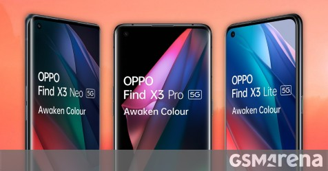 Alleged Oppo Find X3 prices for Europe leak, the X3 Pro model expected to start at €1,000