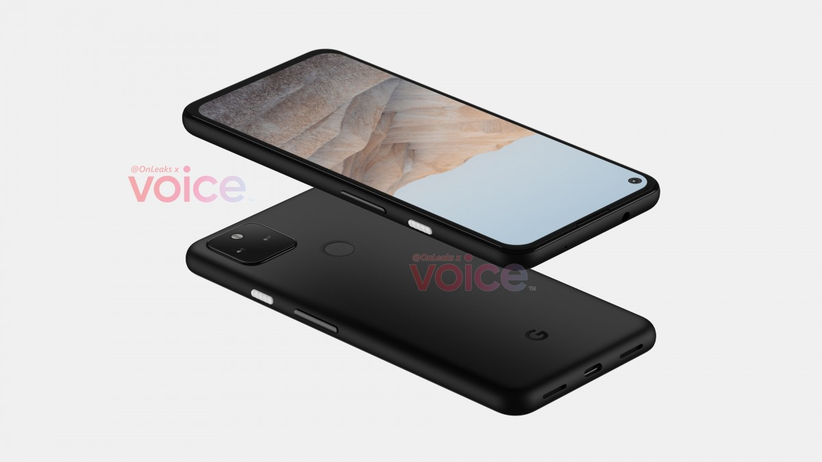 The leak in the Google Pixel 5a shows a familiar design