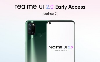 Realme 7i next in line for Realme UI 2.0 early access