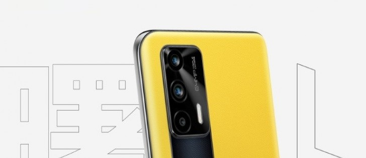 Realme GT 5G Bumblebee leather variant appears in an official poster