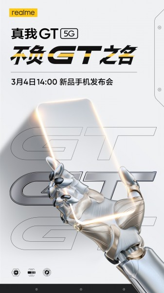 Realme GT 5G is coming on March 4