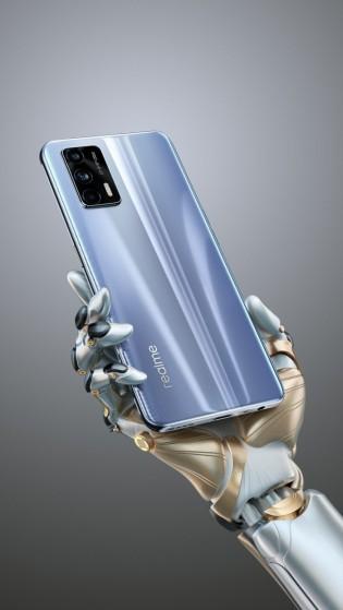 Realme GT 5G glass back variant