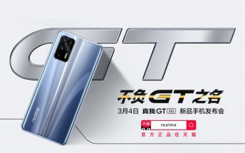 Realme GT shines in first official images