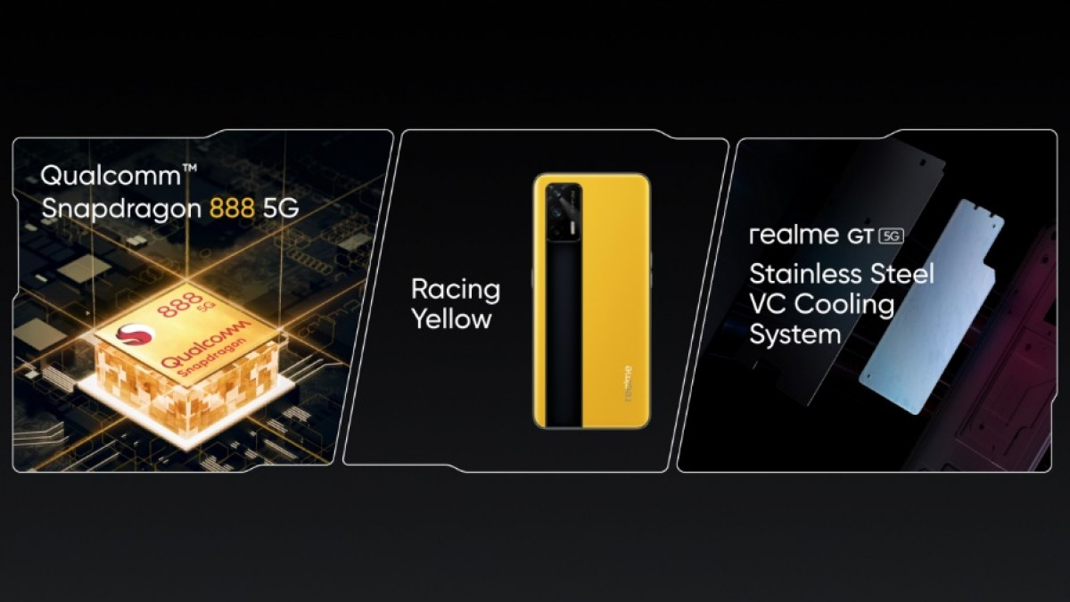 Realme GT 5G leather variant previewed at MWC Shanghai,