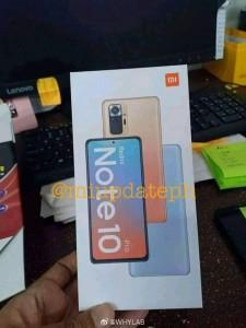 Redmi Note 10 Pro: retail box