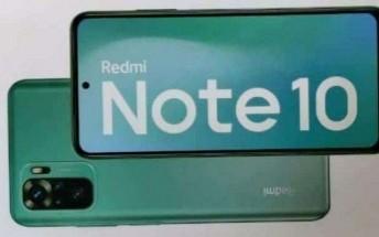 Redmi Note 10 retail box reveals AMOLED display, 48MP main camera
