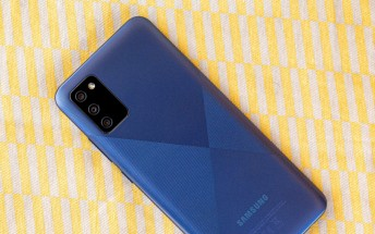 Samsung Galaxy A02s in for review