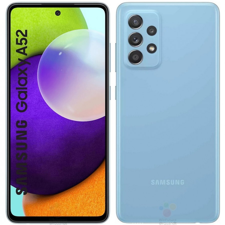 Samsung Galaxy A52 4G and 5G's full specs, design and price revealed in a  massive leak - GSMArena.com news