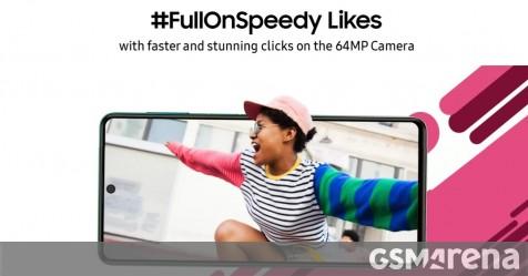 Samsung Galaxy F62 confirmed to feature 64MP camera - GSMArena.com news - GSMArena.com