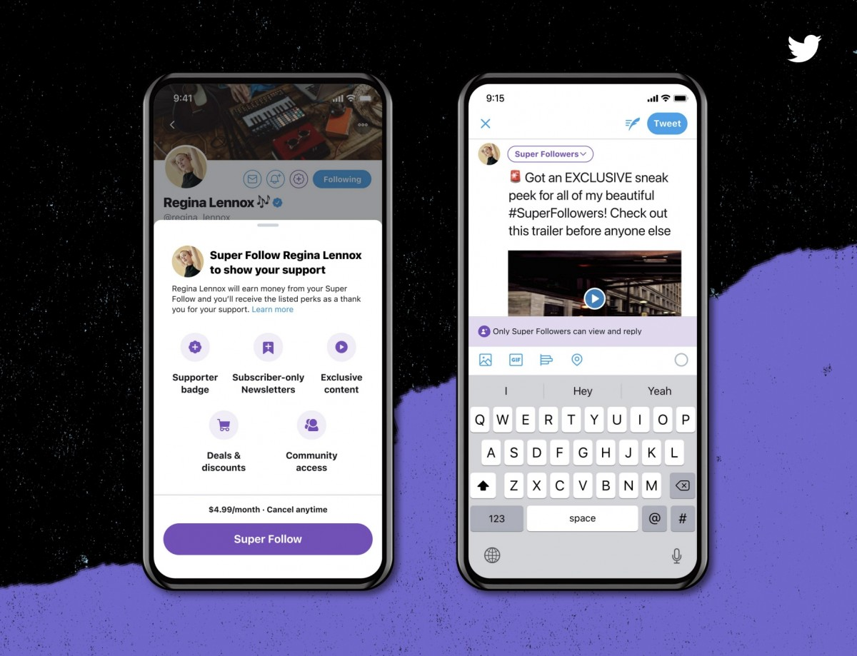 Twitter announces Super Follows and Communities features