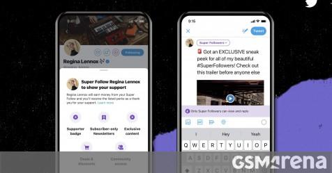 Twitter announces Super Follows and Communities features - GSMArena.com news - GSMArena.com