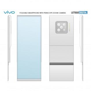 Vivo's foldable smartphone patent
