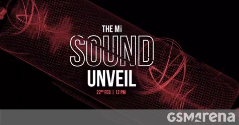 Xiaomi will announce two new audio products in India on February 22 - GSMArena.com news - GSMArena.com