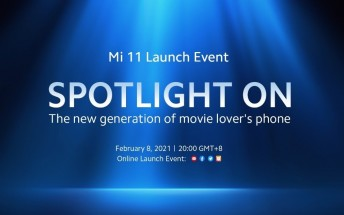 Watch the Xiaomi Mi 11 global launch event here
