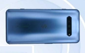 New Black Shark 4 phone shines on TENAA