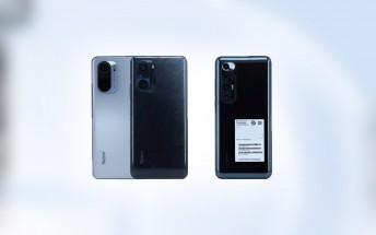 Xiaomi Redmi K40, Redmi K40 Pro, new Mi 10 looks revealed on TENAA