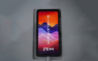 ZTE gives us another sneak peek at its second gen under-display camera