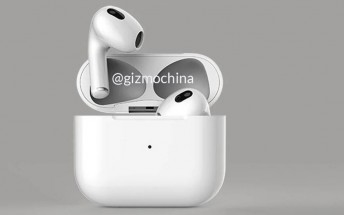 Two new images show AirPods 3 without silicone tips