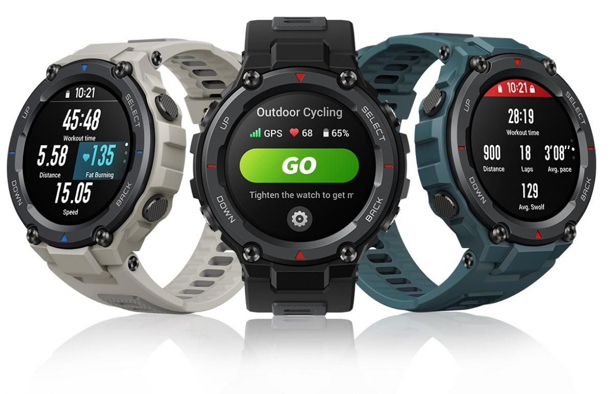 Amazfit T-Rex Pro dalam pengujian: jam tangan pintar standar militer - GSMArena.com news