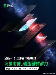 Đoạn teaser mới của Black Shark 4
