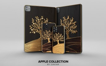 Caviar unveils iPad Pro decorated with 1kg of gold, words of wisdom from Steve Jobs and Tim Cook