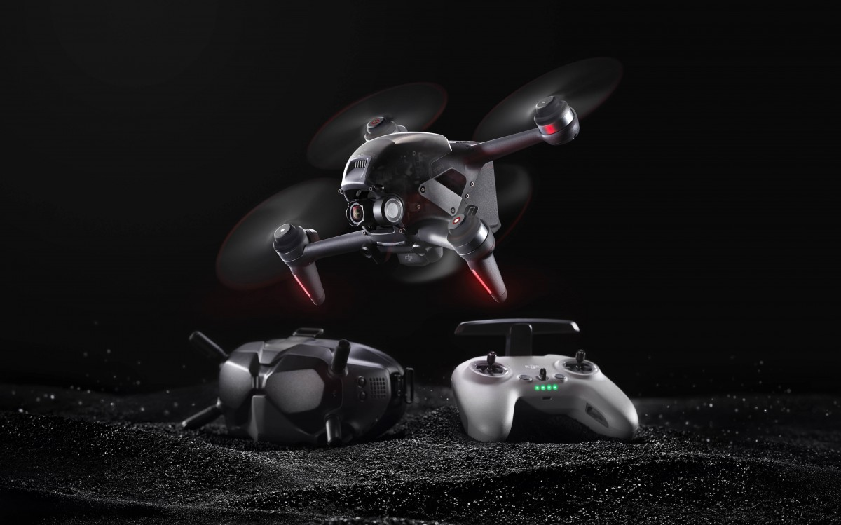 DJI announces FPV first person hybrid drone