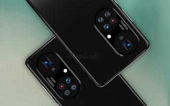 Alleged Huawei P50 Pro+ images show wild penta-camera design