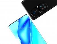 Alleged Huawei P50 Pro+ renders