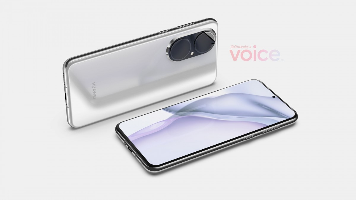 Huawei P50 first renders reveal two huge cameras