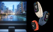 "Xiaomi Mi Smart Band 6 gets ""full screen"" AMOLED display, Mi Smart Projector 2 Pro also  unveiled"