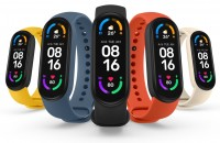 Xiaomi Mi Smart Band 6 color selection