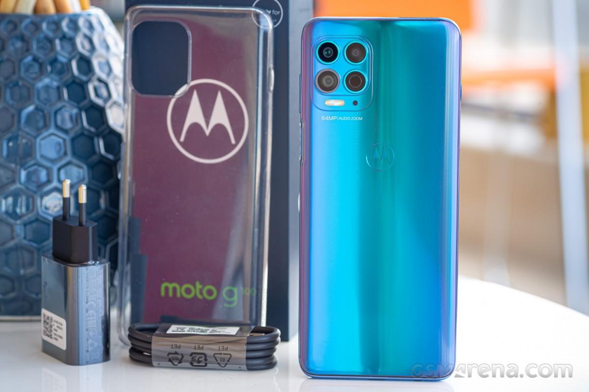 Motorola Moto G100 in for review