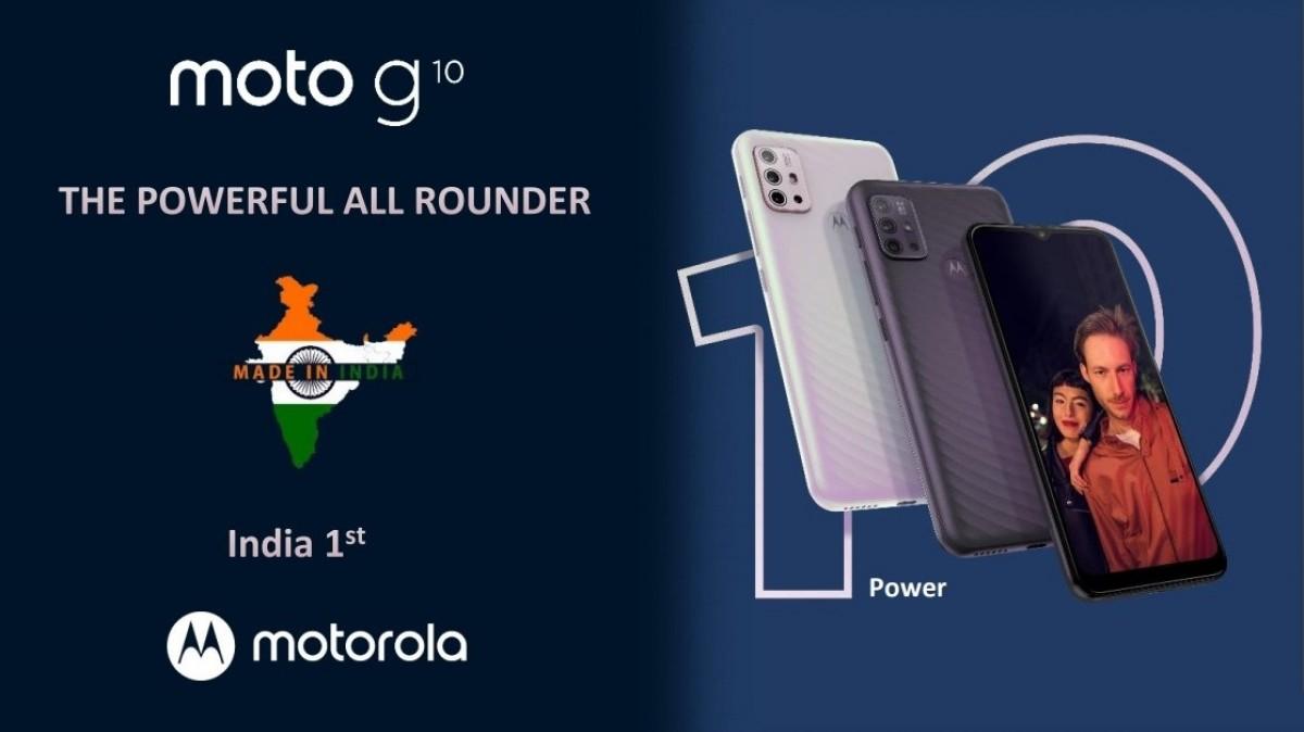 Motorola Moto G10 Power debuts in India with 6,000 mAh battery, Moto G30 tags along