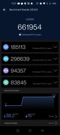 AnTuTu score for the OnePlus 9 Pro (pre-release unit)