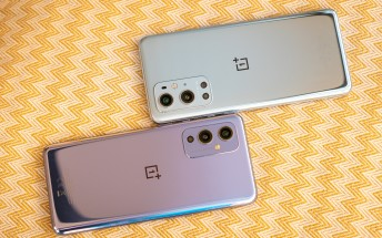 OnePlus 9 and 9 Pro are now receiving their first software update