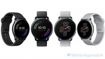 OnePlus Watch in Black and Silver (unofficial image)