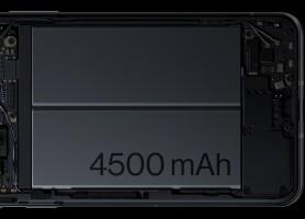 4,500 mAh batteries