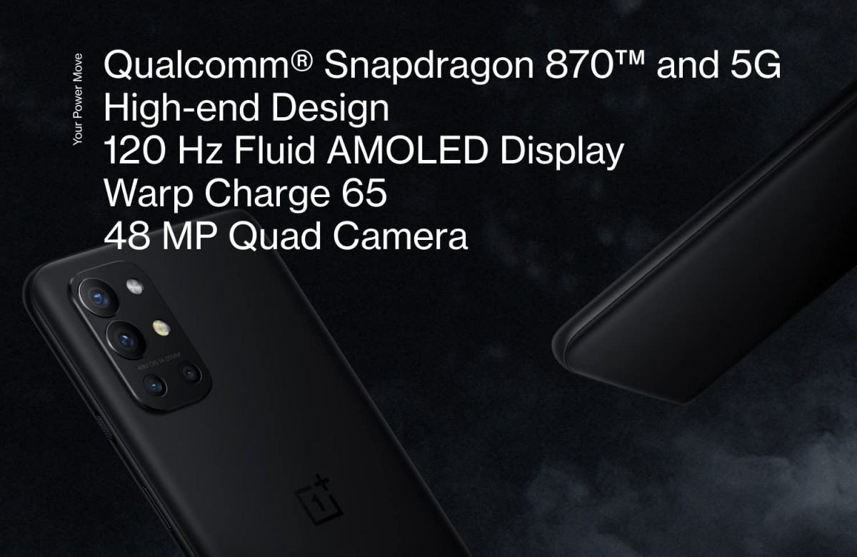 OnePlus 9R joins the game: an 8T for 2021 with Snapdragon 870, 120 Hz display