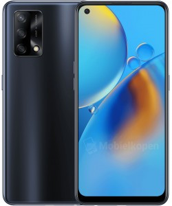Oppo A74 5G in Fluid Black