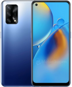 Oppo A74 4G in Midnight Blue