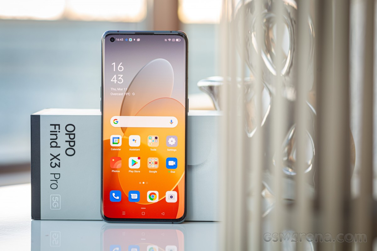 Oppo Find X3 Pro in for review