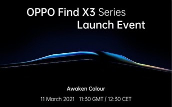 Oppo Find X3 Pro launch date officially set for March 11