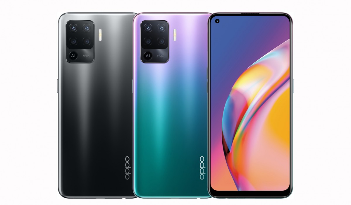Oppo Reno5 Lite launches as rebadged Reno5 F in Ukraine