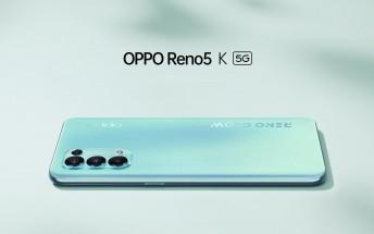 Oppo Reno5 K 5G price revealed as sales begin in China
