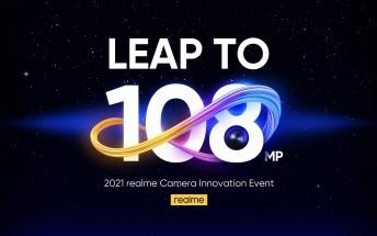 Realme details 108MP camera ahead of Realme 8 Pro launch