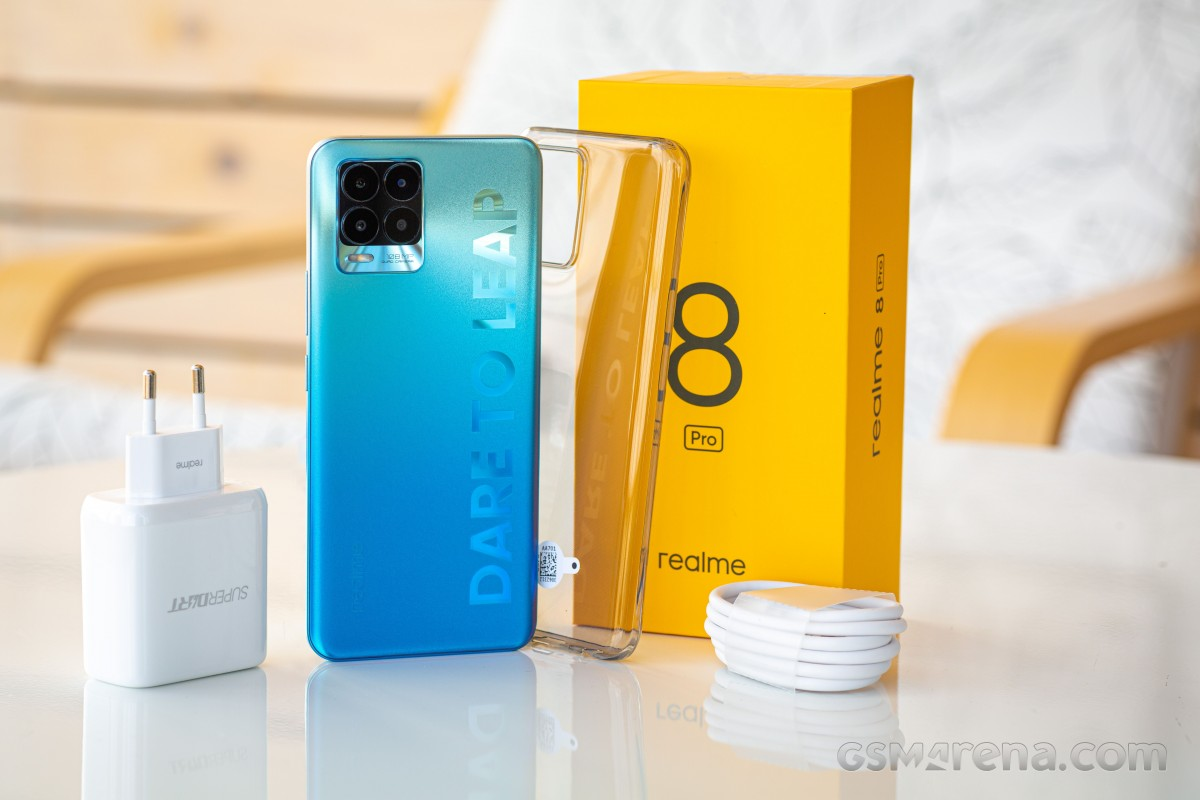 Realme 8 Pro in for review