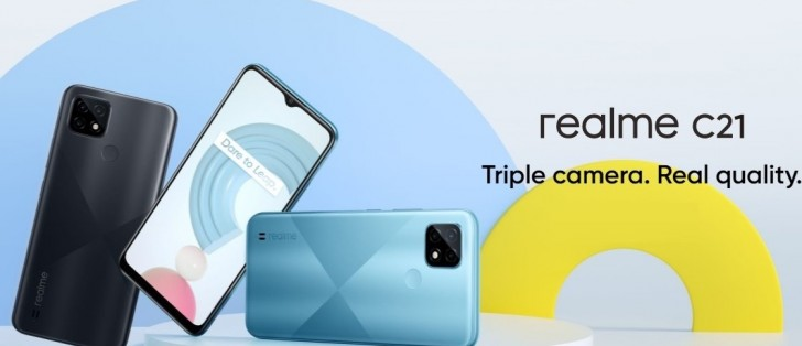 Realme C21 announced with Helio G35 and 5,000 mAh battery