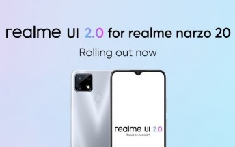 Realme Narzo 20 receiving Android 11-based Realme UI 2.0 stable update