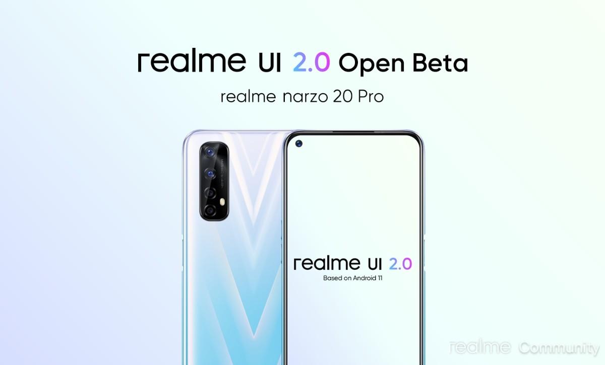 Realme UI 2.0 Open Beta starts arriving to 6 Pro, Narzo 20 Pro
